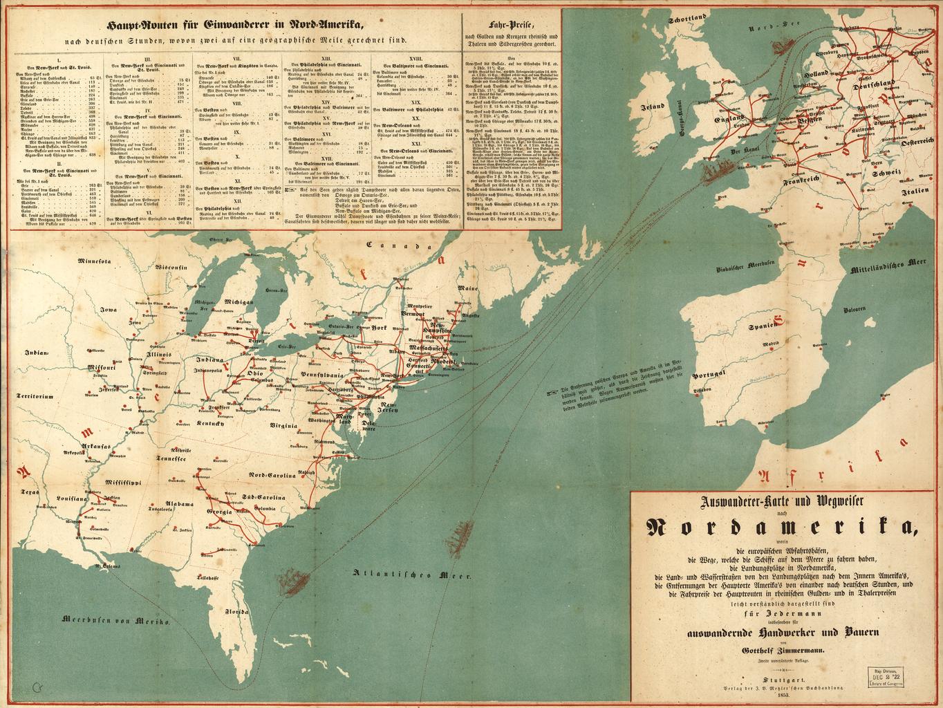 Jade Meyer - European immigration to america us map 1885